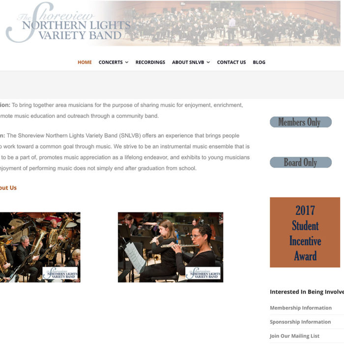 Shoreview Northern Lights Variety Band