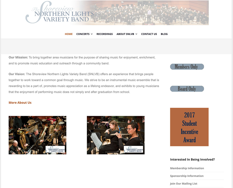 Shoreview Northern Lights Variety Band